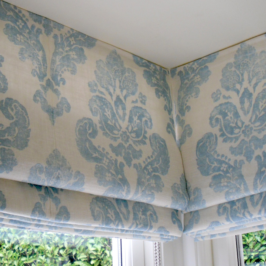 Custom made roman blinds Surrey UK